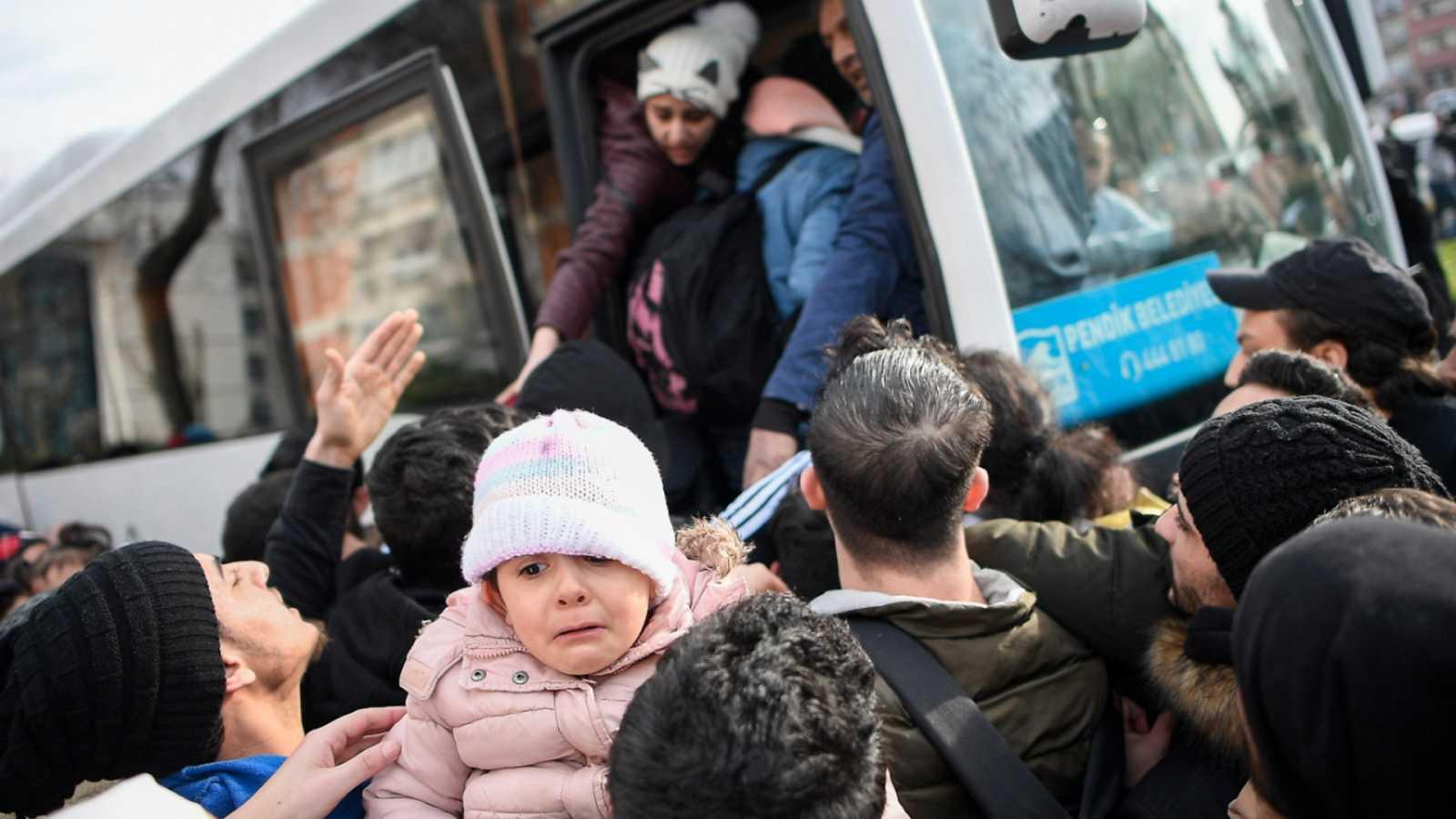Cinco continentes - Migraciones: la ruta entre Turquía y Grecia - Escuchar ahora