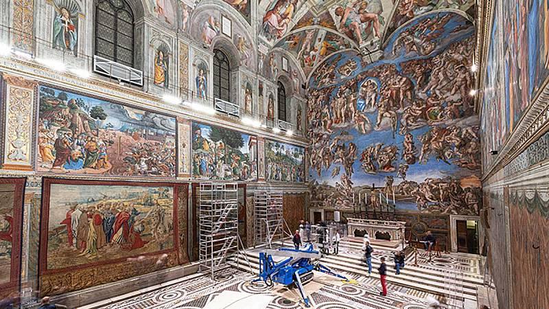 Cuéntame un cuadro - Los tapices de Rafael para la Capilla Sixtina - 01/03/20 - Escuchar ahora
