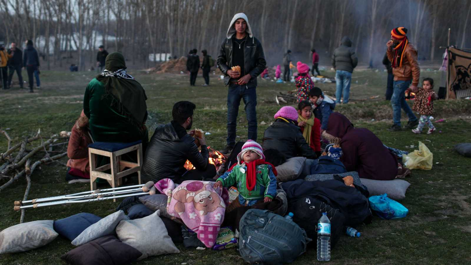 Las mañanas de RNE con Íñigo Alfonso - Tensión en la frontera entre Grecia y Turquía por la presencia de miles de refugiados - Escuchar ahora