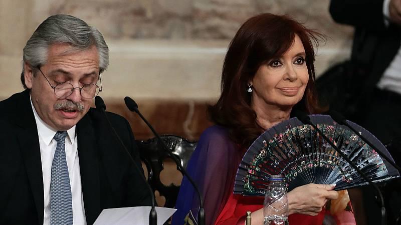 Las mañanas de RNE con Íñigo Alfonso - Alberto Fernández anuncia una ley para despenalizar el aborto en Argentina - Escuchar ahora