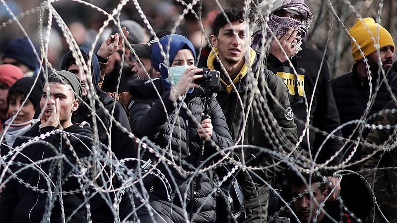 14 horas - Se acentúa la tensión en la frontera entre Grecia y Turquía y en el Egeo - Escuchar ahora