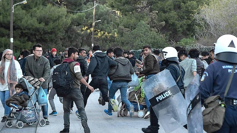 24 horas - La Unión Europea apoya las acciones de Grecia en la frontera con Turquía - Escuchar ahora