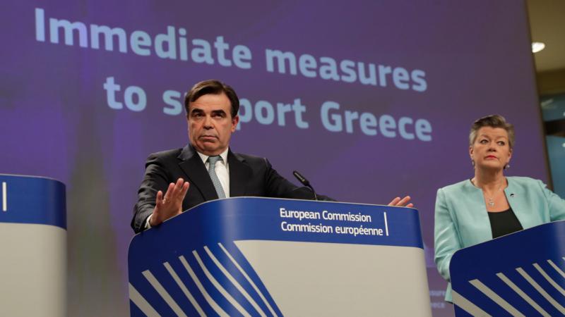 Las mañanas de RNE con Íñigo Alfonso - La UE respalda la política migratoria de Grecia en la crisis migratoria - Escuchar ahora