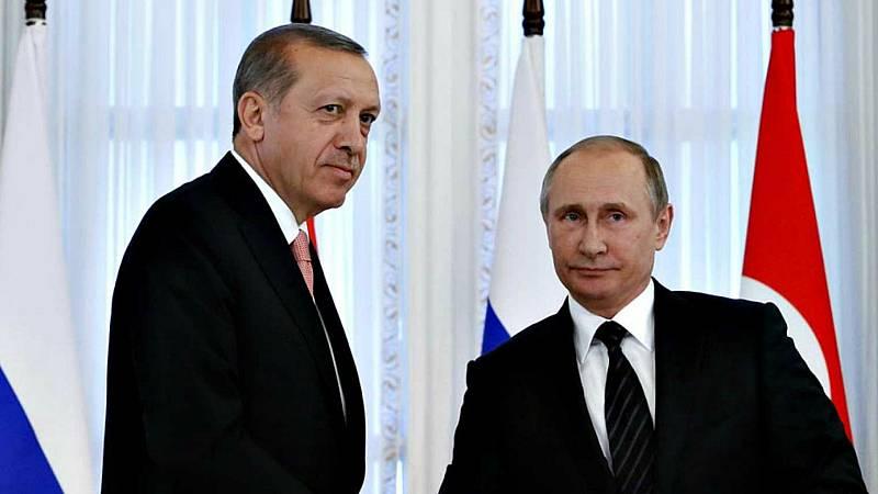 Las mañanas de RNE con Íñigo Alfonso - Putin y Erdogan se reúnen para tratar la crisis siria - Escuchar ahora