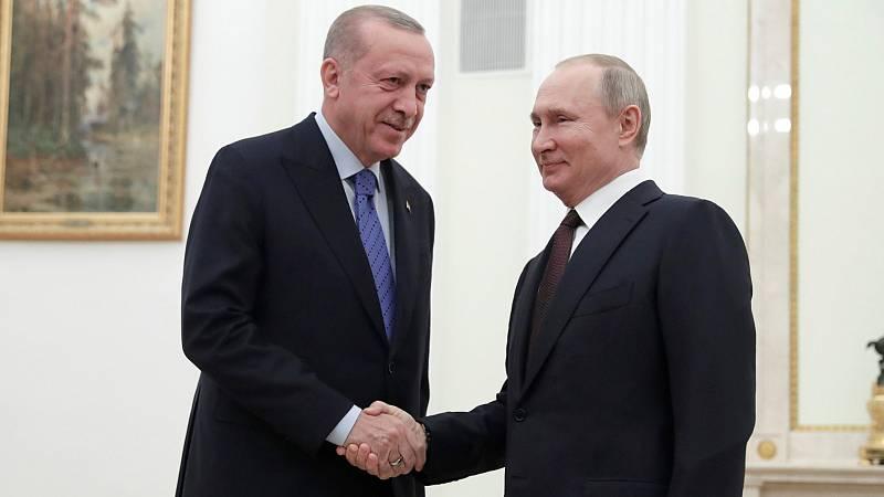 Boletines RNE - Acuerdo entre Rusia y Turquía para rebajar la tensión en Idlib - Escuchar ahora