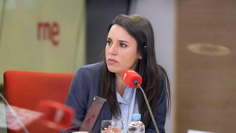 """Las mañanas de RNE con Íñigo Alfonso - Montero: """"Soy abolicionista y la lucha contra la trata es una prioridad para el Gobierno"""" - Escuchar ahora"""