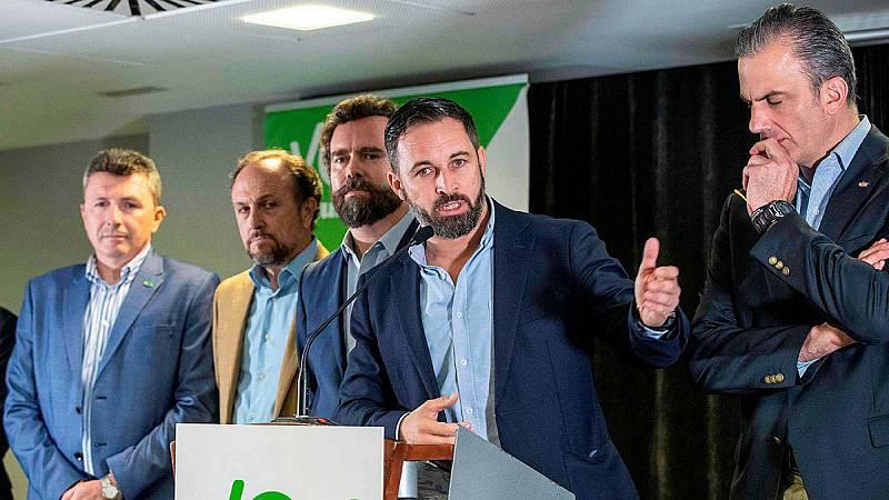 14 horas - Los nuevos estatutos de Vox concentrarán el poder en Santiago Abascal - Escuchar ahora