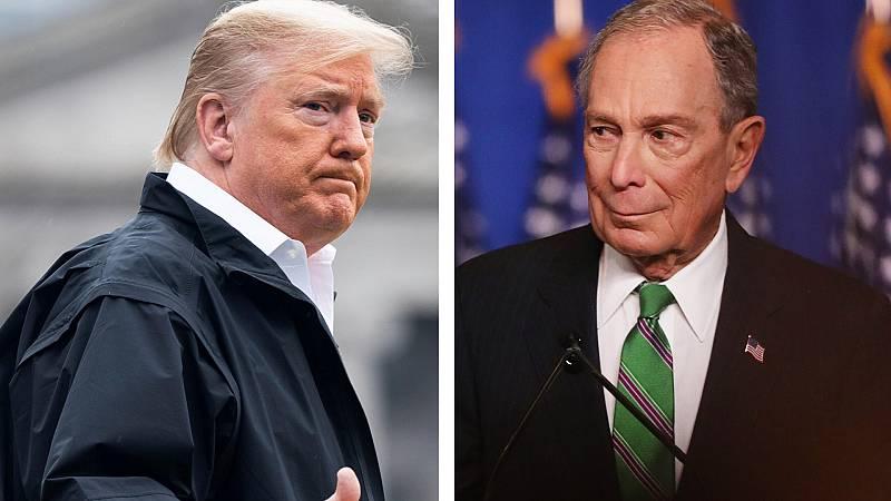 24 horas - Trump y Bloomberg se enzarzan en Twitter - Escuchar ahora
