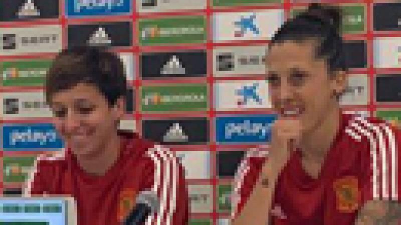 """Marta Corredera, sobre Jenni Hermoso: """"Es una de las mejores jugadoras que hay en el mundo"""""""
