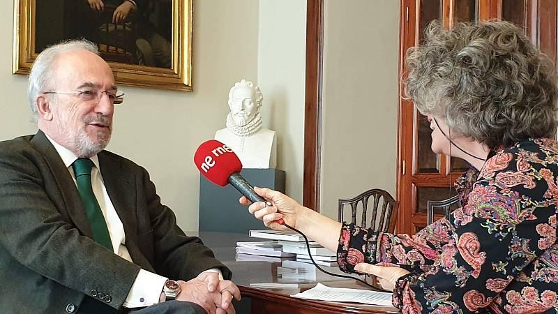 Un idioma sin fronteras - Entrevista con Santiago Muñoz Machado, director de la RAE - 14/03/20 - escuchar ahora