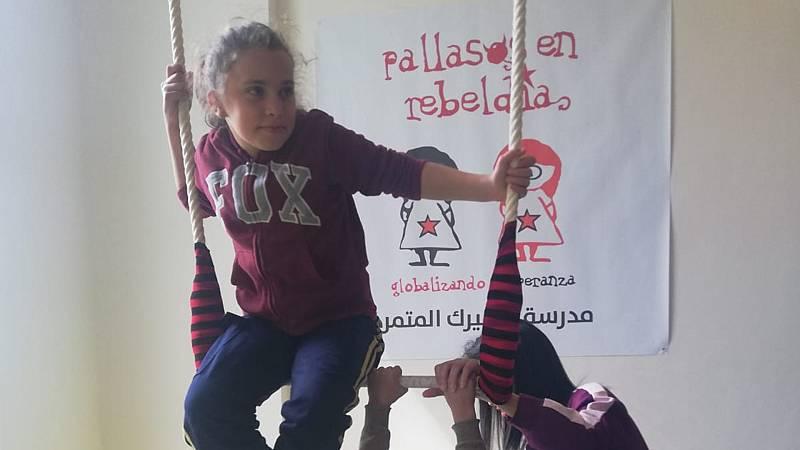 Reportajes 5 Continentes - En Aida Camp, una escuela de circo para niños palestinos - Escuchar ahora