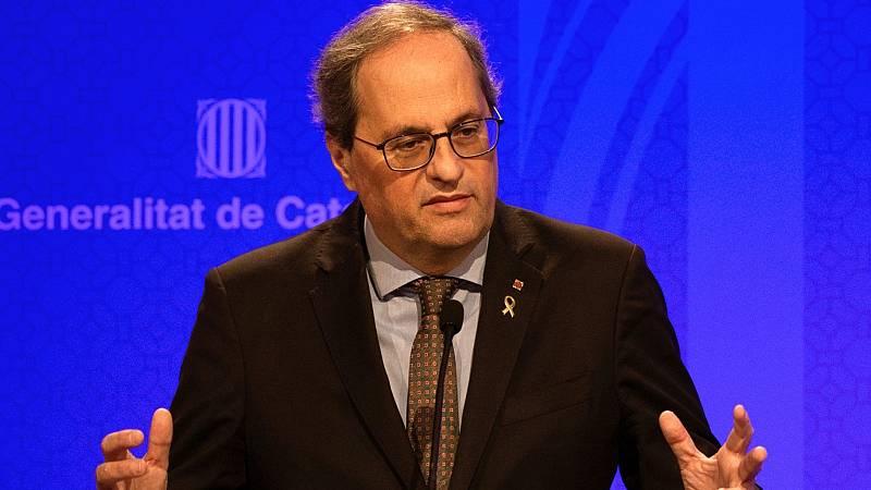 24 horas - Quim Torra pide al Gobierno que prohíba las entradas y salidas de Cataluña - Escuchar ahora