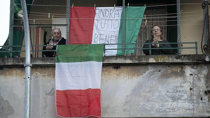 14 horas - Italia alargará el confinamiento más allá del 3 de abril - Escuchar ahora