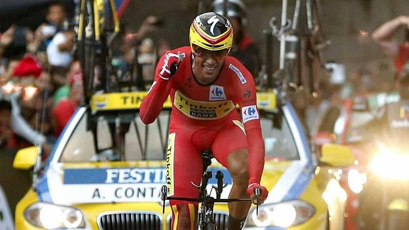 Por tres razones - Alberto Contador, tu profesor particular de spinning - Escuchar ahora