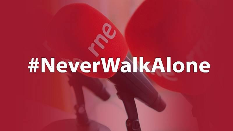 """Las mañanas de RNE con Íñigo Alfonso - """"You'll never walk alone"""": el mensaje de unión y esperanza de las radios europeas frente al  - Escuchar ahora"""