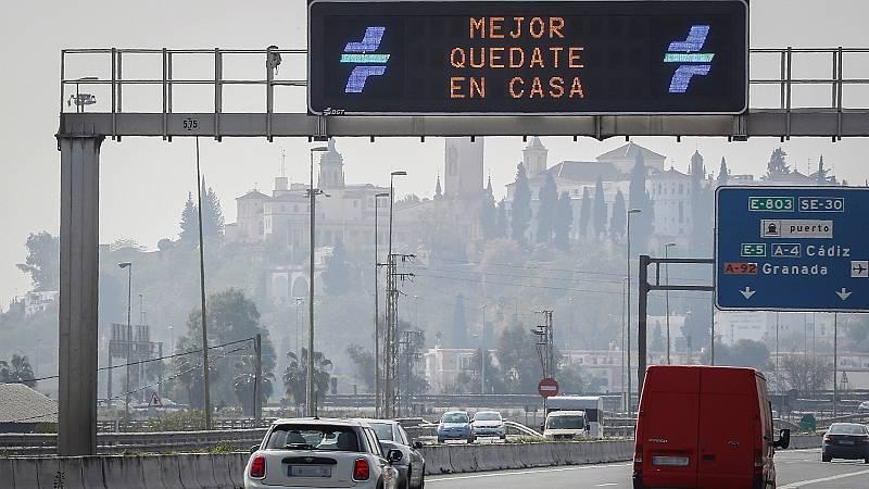 España a las 8 Fin de Semana - Se acrecentan los controles de carretera para asegurar la limitación de la movilidad - Escuchar ahora