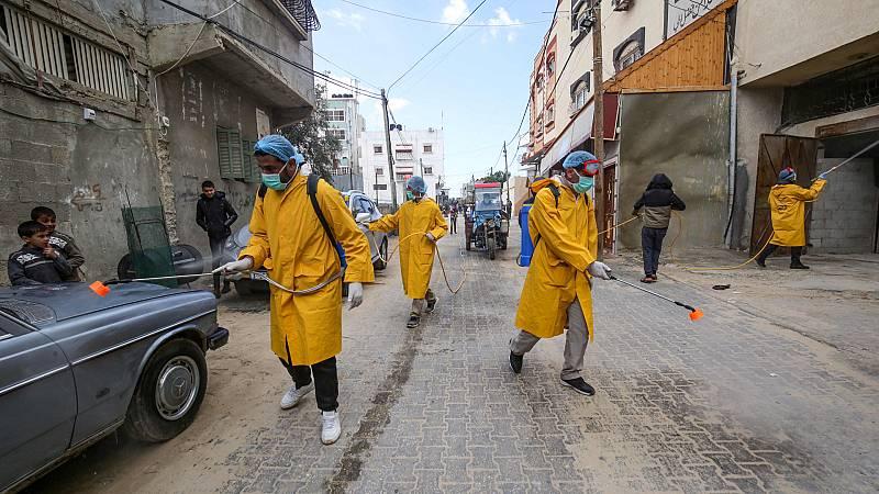14 Horas Fin de Semana - El coronavirus podría comprometer el sistema de salud en Gaza - Escuchar ahora
