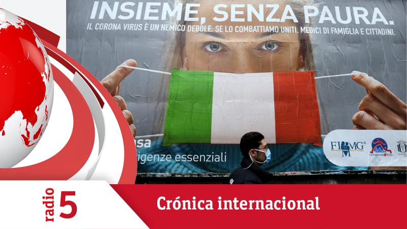 Crónica Internacional - Italia cierra fábricas y empresas no relacionadas con bienes de primera necesidad - Escuchar ahora