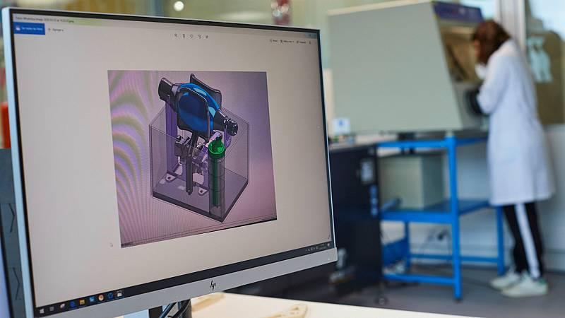Las mañanas de RNE con Íñigo Alfonso - 'Covid-19 Makers', tecnología 3D al servicio de los sanitarios - Escuchar ahora