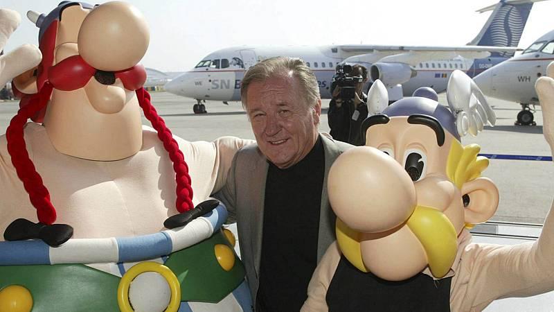 Boletines RNE - Muere el dibujante Albert Uderzo, uno de los creadores de 'Asterix' - Escuchar ahora