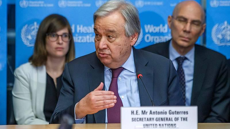 Boletines RNE - ONU, UNICEF y OMS piden no dejar atrás a los países más vulnerables