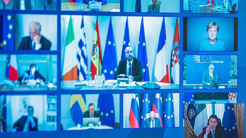 24 horas - Cumbre europea sin resolución: España e Italia se plantan y los 27 se citan dentro de 15 días