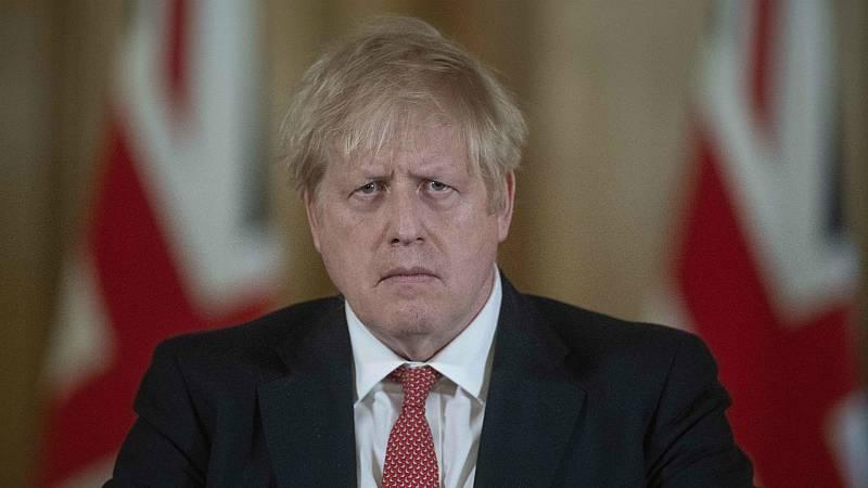 14 horas - El primer ministro británico, Boris Johnson, da positivo en coronavirus - Escuchar ahora