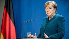 14 horas - Las líneas rojas de Merkel en la UE: eurobonos y mutualización de la deuda