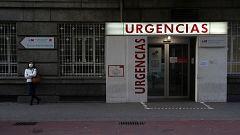 España a las 8 Fin de Semana - Los hospitales madrileños, saturados y con falta de material