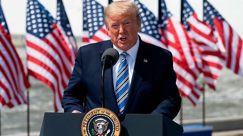 24 horas fin de semana - Trump se plantea somenter a cuarentena el estado de Nueva York y otros dos estados - Escuchar ahora