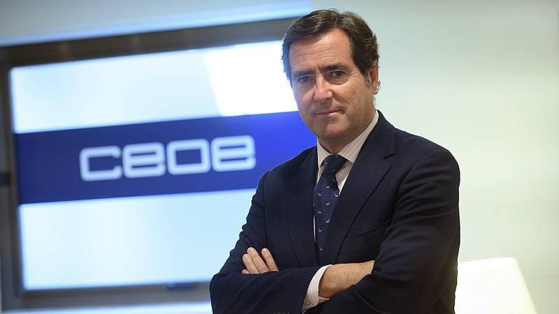 """Las mañanas de RNE con Íñigo Alfonso - Garamendi (CEOE): """"El Gobierno ha actuado con precipitación"""" - Escuchar ahora"""