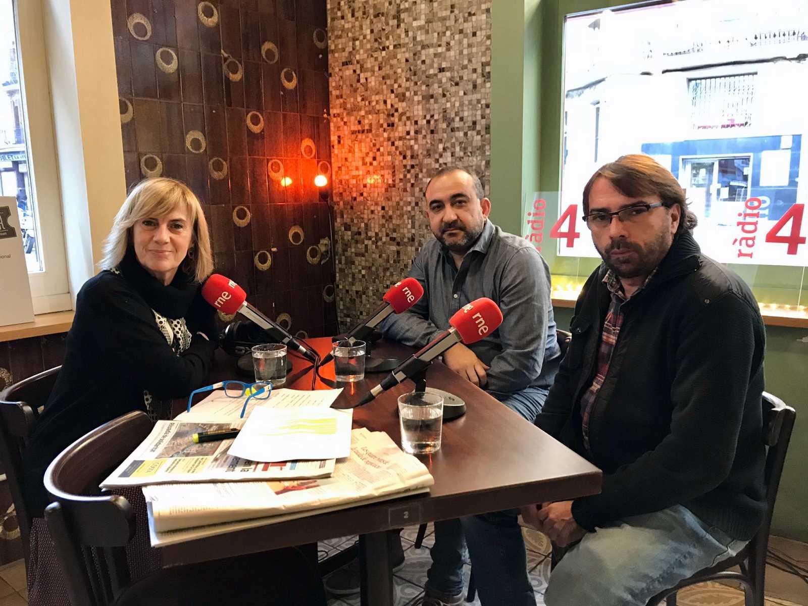 Gemma Nierga entrevista Camil Ros i Javier Pacheco 31/03/20