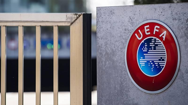 Boletines RNE - La UEFA da prioridad a las ligas sobre las competiciones europeas - Escuchar ahora