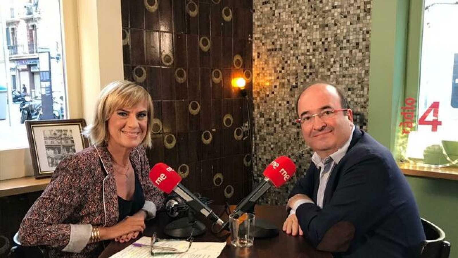 Gemma Nierga entrevista Miquel Iceta 06/04/20