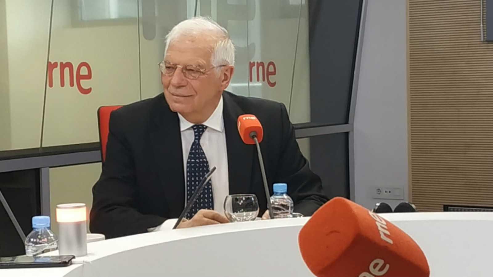 """Josep Borrell: """"La paraula rescat és improcedent. Es tracta de saber com ens endeutem i com anem al mercat de fons per estats"""""""