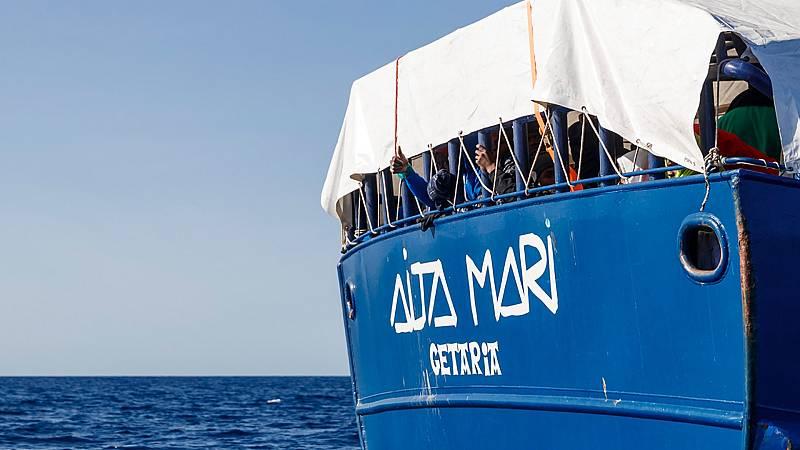 Todo noticias tarde - El Aita Mari busca puerto en una Europa cerrada por el coronavirus - Escuchar ahora