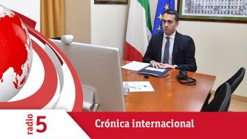 """Crónica internacional - Di Maio: """"Solidaridad es la clave y espero que la UE la tenga unida"""" - Escuchar ahora"""