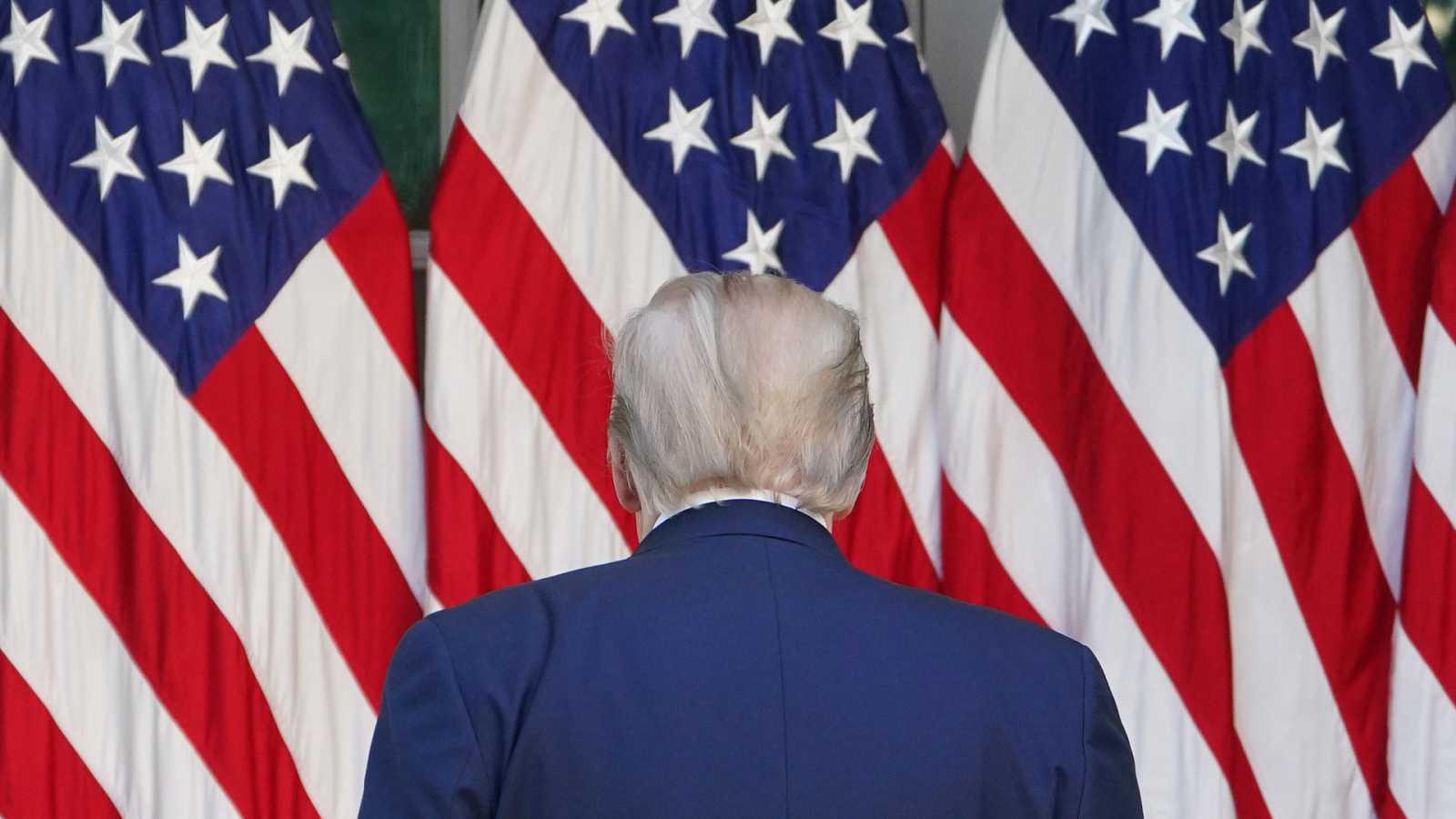 Trump quiere la reapertura para mayo, pero varios estados se oponen - Escuchar ahora