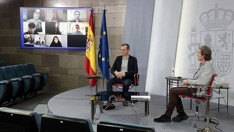 24 horas fin de semana - 20 horas - Fernando Simón y Pedro Duque hablan del Covid-19 con niños y adolescentes - Escuchar ahora