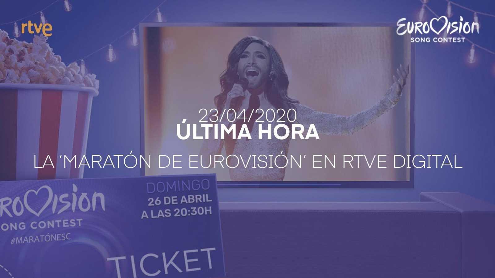 Vive la maratón de Eurovisión en RTVE.es