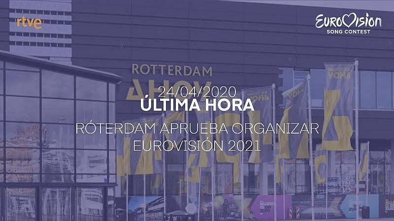 Róterdam aprueba organizar Eurovisión 2021