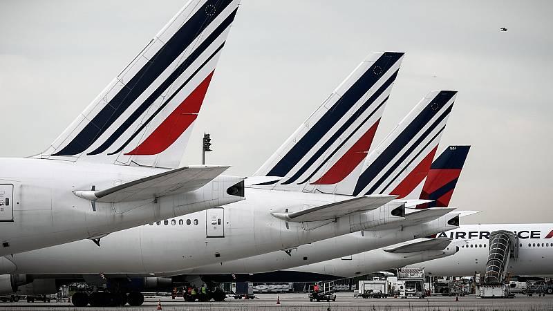España a las 8 Fin de Semana - Francia apoyará a Air France con 7.000 millones de euros - Escuchar ahora