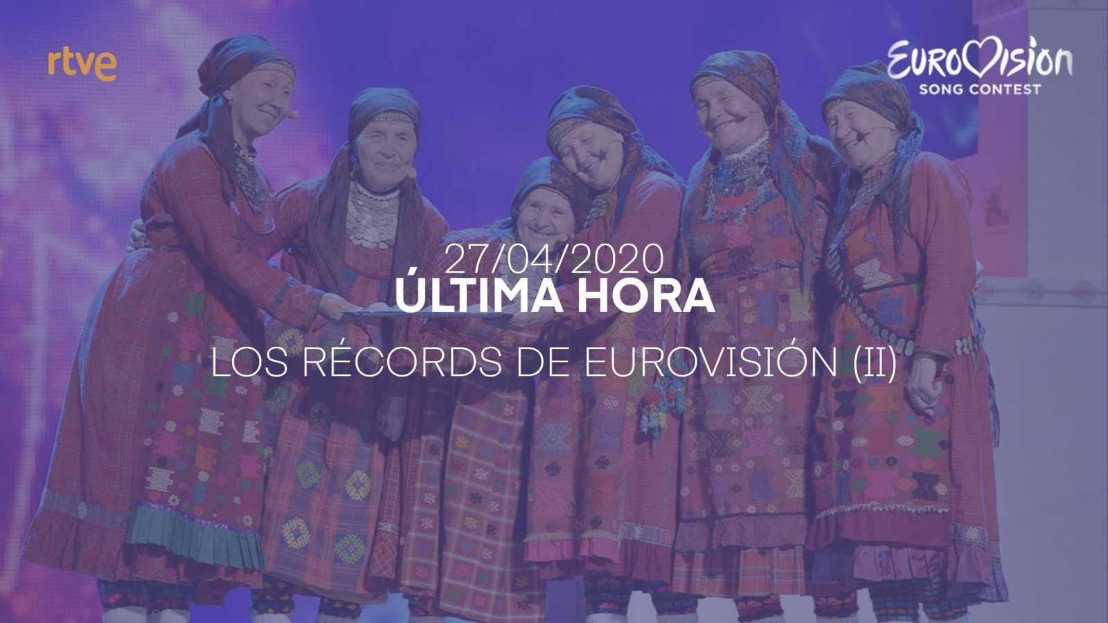 Los récords de Eurovisión (II)