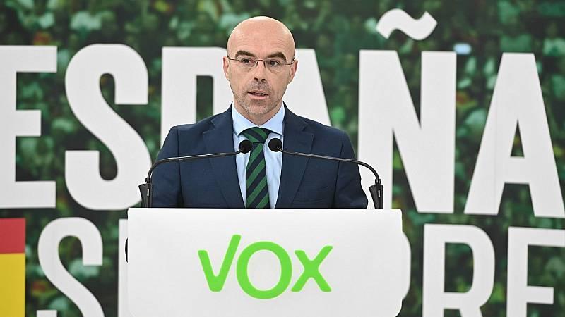 """Las mañanas de RNE con Íñigo Alfonso - Jorge Buxadé (VOX): """"El Gobierno está chantajeando a la oposición; decir que el estado de alarma es la única opción es un bulo jurídico"""" - Escuchar ahora"""