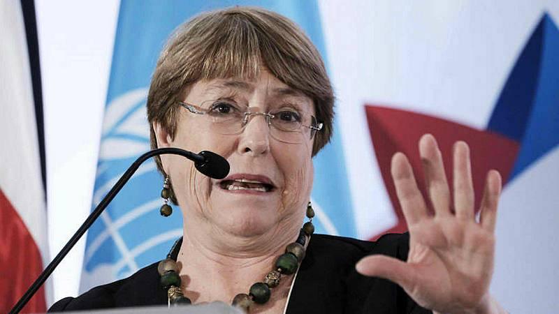 """Las mañanas de RNE con Íñigo Alfonso - Bachelet pide a los gobiernos que se sitúen al lado de los más vulnerables y alerta del riesgo de que la crisis """"restrinja la democracia"""" - Escuchar ahora"""