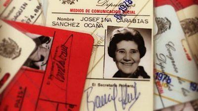 24 horas - En algún lugar del tiempo   Josefina Carabias, la primera periodista - Escuchar ahora