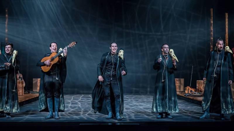 En escena - 'Cervantina', de Ron Lalá, en La 2 es Teatro - 14/05/20 - Escuchar ahora