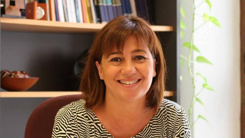 """Francina Armengol: """"Que es bonifiqui als turistes de la península que vulguin viatjar a les Illes Balears"""""""