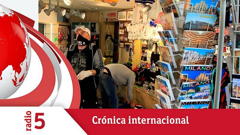 Todo noticias - Mañana - Crónica internacional - Italia acelera la desescalada y podría abrir los bares el lunes - Escuchar ahora