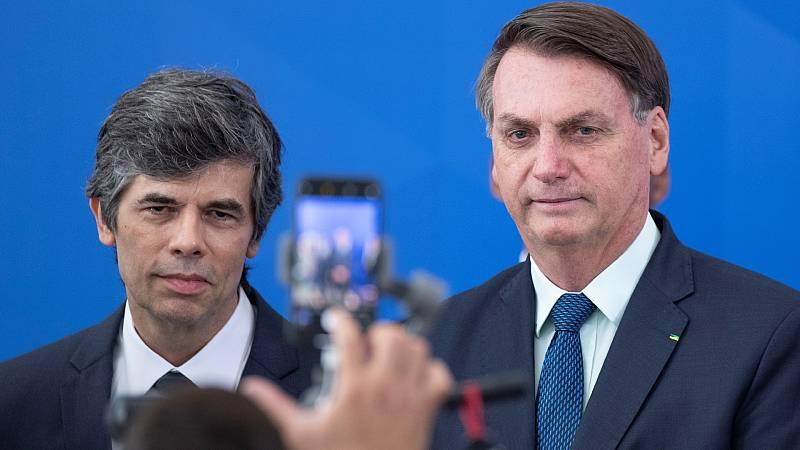 Boletines RNE - Dimite el recién nombrado ministro de Salud en Brasil - Escuchar ahora